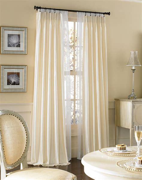 images of drapes dupioni silk pinch pleat luxury curtain panel