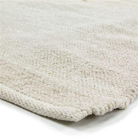 petit tapis 201 cru pas cher 100 coton 55x85cm