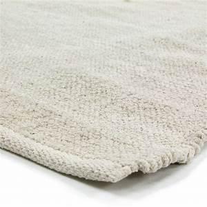 petit tapis ecru pas cher 100 coton 55x85cm With tapis coton pas cher