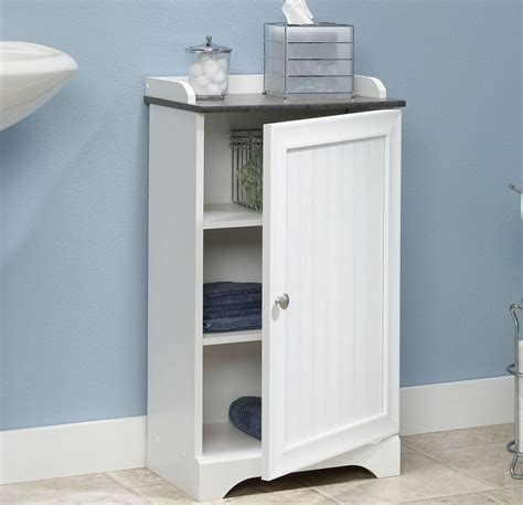 Handtuch Schrank Bad by White Floor Storage Cabinet Bathroom Organizer Cupboard