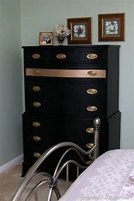 Gold Metallic Painted Furniture