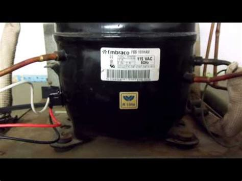 how to wire in a rc 0210 start kit on a 115 volt embraco compressor