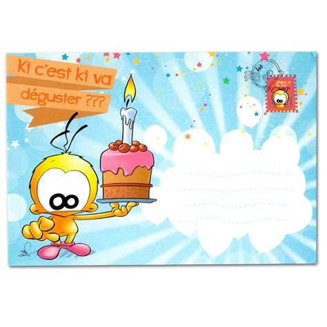 gadget de cuisine carte anniversaire lance confettis quot pluie de bisous quot à 3 90