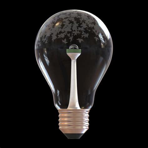 led light bulb design milk