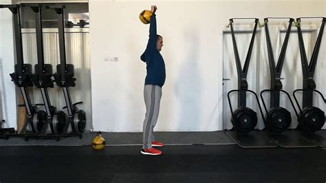 kettlebell push press