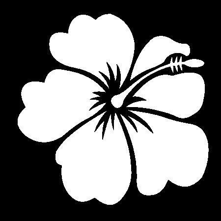 Hibiscus Flower Stencils Printable