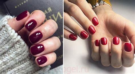 Красный маникюр на короткие ногти фото красивых дизайнов