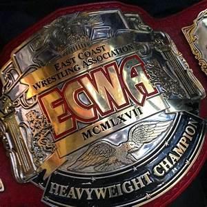 ECWA Unified Heavyweight Championship Title Belt | Pro ...