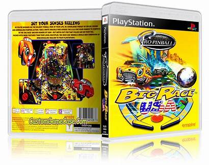 Pinball Usa Ps1 Race Case Playstation Sony