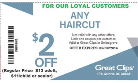 great clips coupon sunbury salon spa health and