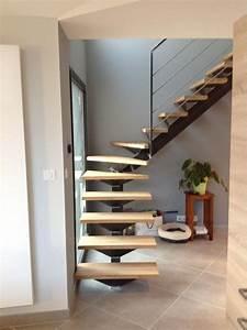 Escalier Bois Quart Tournant : escalier quart tournant milieu dans le gard ~ Farleysfitness.com Idées de Décoration