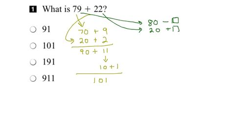 eqao grade 3 math 2016 question 1 solution youtube