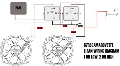 Automotive Cooling Fan Wiring Diagram by Aftermarket Electric Fan Wiring Ls1tech Camaro And