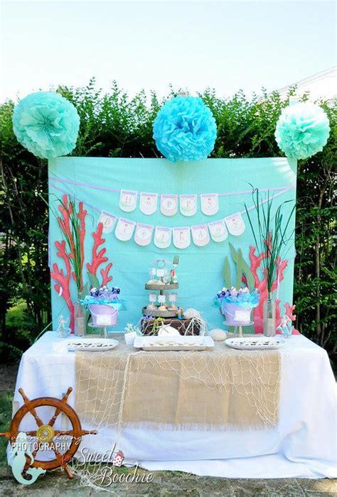 homemade  mermaid party ideas