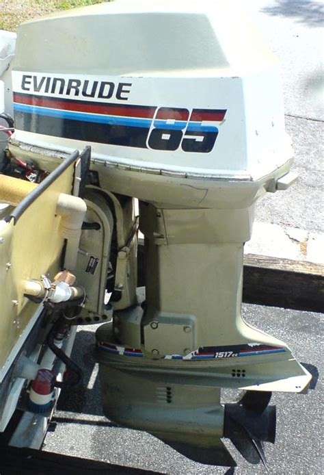 Evinrude 85 Hp Outboard Boat Motor by Evinrude 85 Hp Outboard Boat Motor For Sale