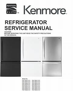 Kenmore Elite 795 79042 79043 79044 79049  312 Models