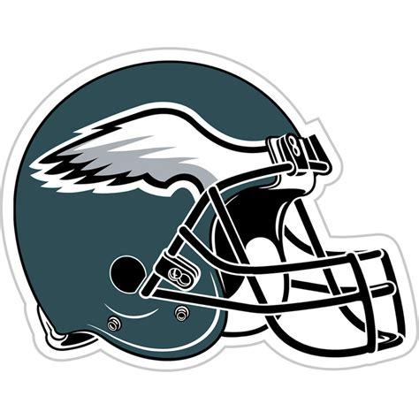 philadelphia eagles vinyl magnet set helmet logo