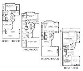 Sle House Design Floor Plan by Large Townhouse Floor Plans For Sale