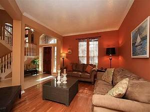warm colors living room interior design ideas with calm With interior paint ideas family room