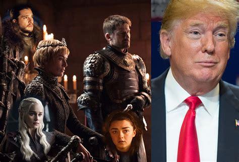 Protestas Contra Donald Trump Acogen A Elenco De Juego De