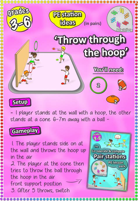 operate compete  fun pair skill stations cards