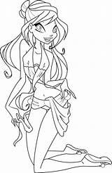Coloring Swimsuit Bloom Pages Suit Bikini Swim Deviantart Icantunloveyou Winx Bathing Barbie Template Swimming Sheets Spongebob Swimwear Bottom Sketch Deviant sketch template