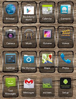 jellyberry10 change the application icon on your blackberry z10 with android jellybean