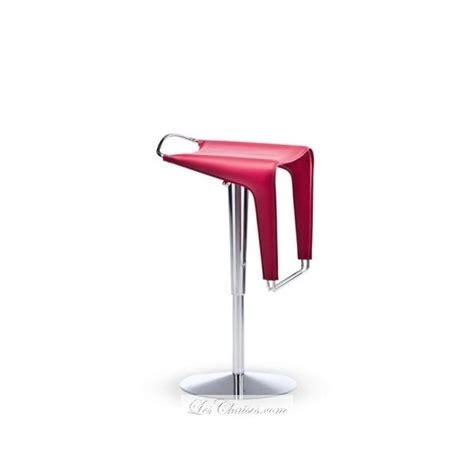 chaise de bar reglable tabouret bar réglable design zow tabourets par midj