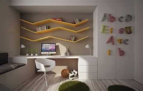 25  Kids Study Room Designs, Decorating Ideas   Design Trends