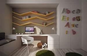 25, Kids, Study, Room, Designs, Decorating, Ideas