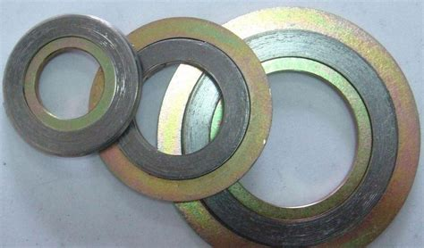 China Flange Gasket, Asme B16.20 Spiral Wound Gasket, Ring