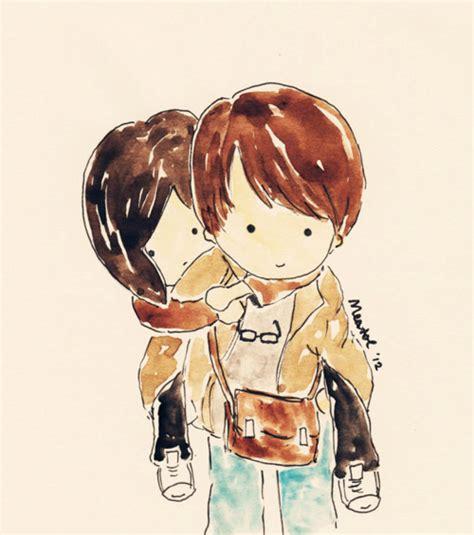anime jepang paling romantis 25 gambar kartun romantis korea jepang dan dp bbm