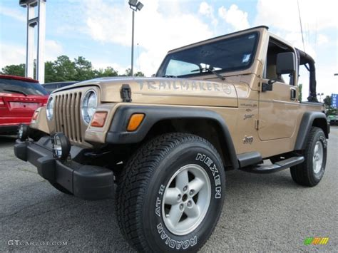 desert jeep wrangler desert sand pearl 2000 jeep wrangler sport 4x4 exterior