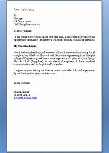 how to make a cover letter for a resume With how to make covering letter for cv