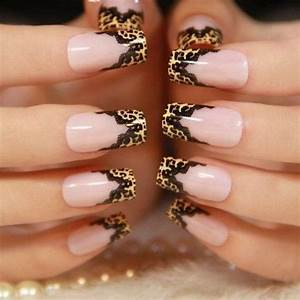 60 stylish leopard and cheetah nail designs that you will