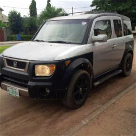 registered  honda element black wheels autos nigeria