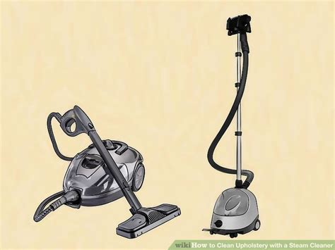 drapery steam cleaner how to clean upholstery with a steam cleaner 11 steps