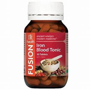 Iron Blood Tonic By Fusion Health