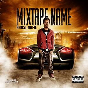 19 psd photoshop mixtape templates images free mixtape With free mixtape covers templates