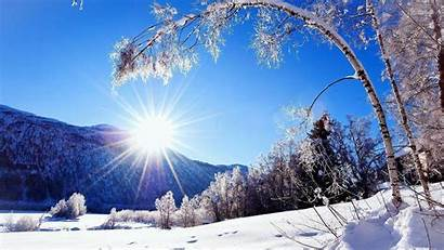 Winter Landscapes Wallpapers Landscape Sunlit