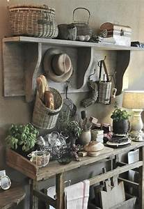 Rustic, French, Country, Cottage, Kitchen, 11