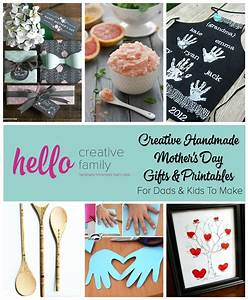 Creative Handmade Mothers Day Gifts and Printables For ...