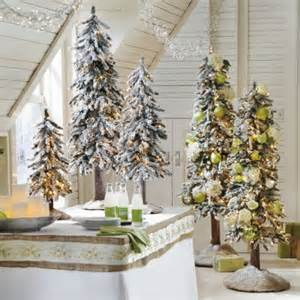 pre lit table top alpine christmas trees it s the most wonderful