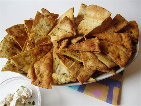Baked Pita Chips — Spiceindiaonline