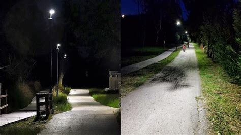 Tecniche Di Illuminazione Vasto Prove Tecniche Di Illuminazione Sulla Ciclabile A