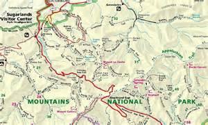 Appalachian Trail Smoky Mountains Map