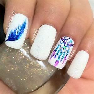 Images Of Dream Catcher Nail Art Golfclub