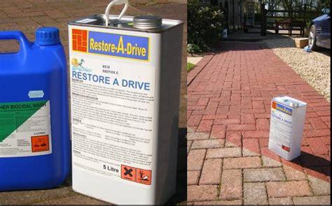 restore  drive driveway block paving  patio