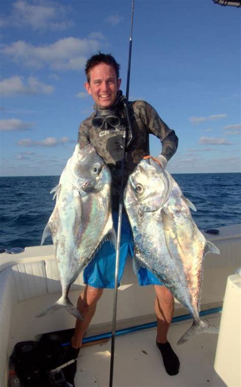 grouper record pompano african spearblog riffe nolan speared pole