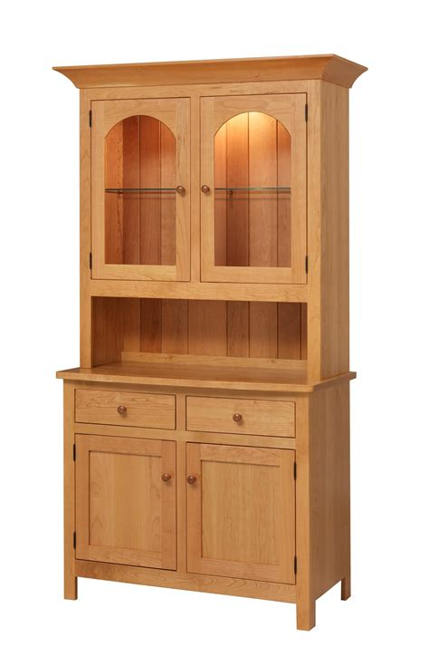 amish hutch georgetown hutch from dutchcrafters amish furniture